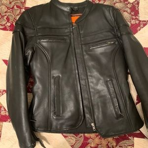 First Classic Leather Motorcycle Jacket